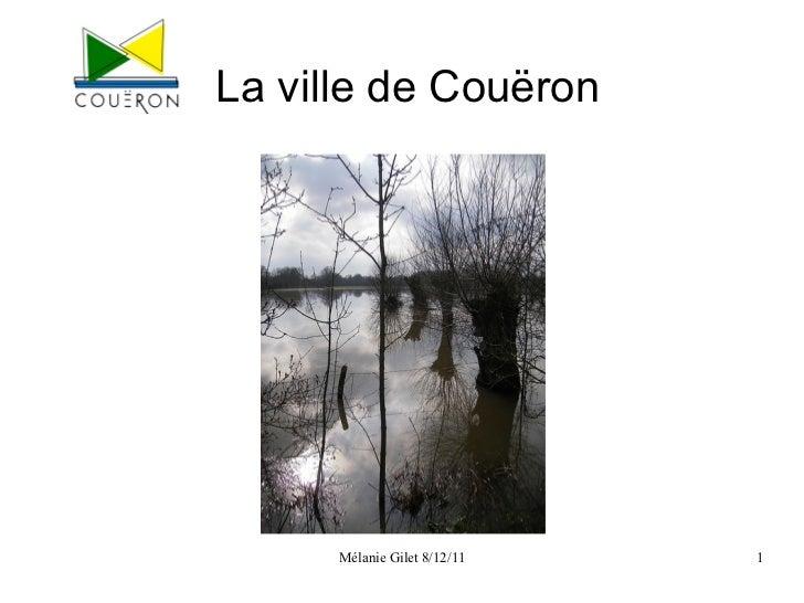 La ville de Couëron