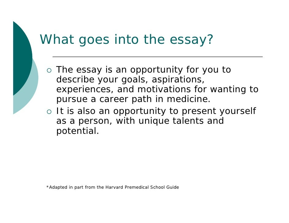Your future career essay