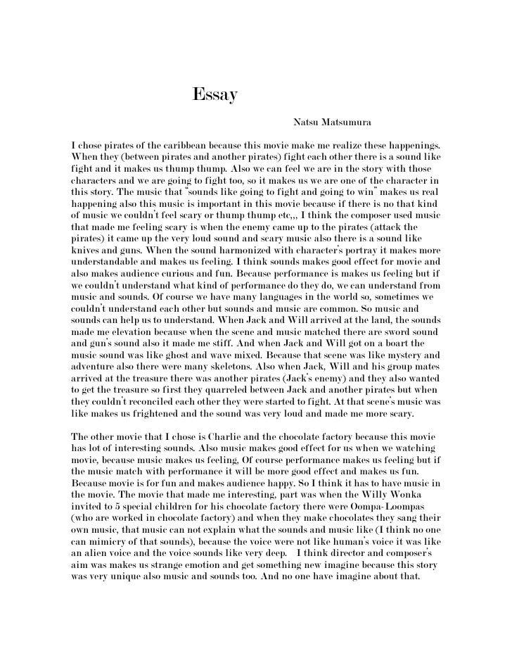 Essay<br />                                                                                                ...