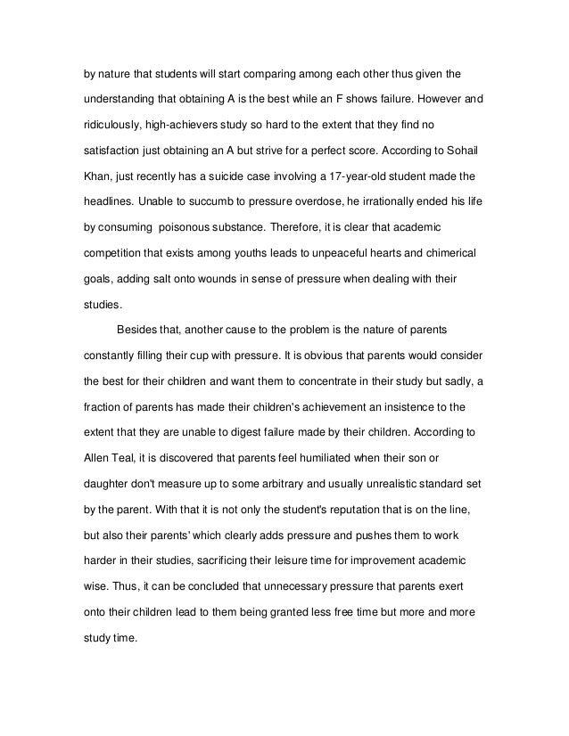 Essay about university