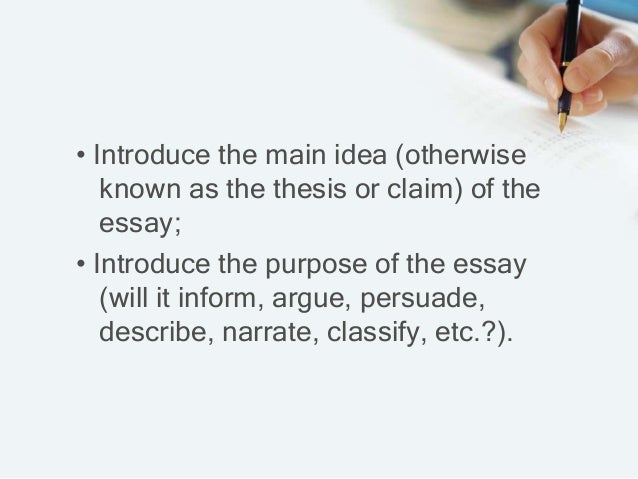 types of claims in persuasive essay