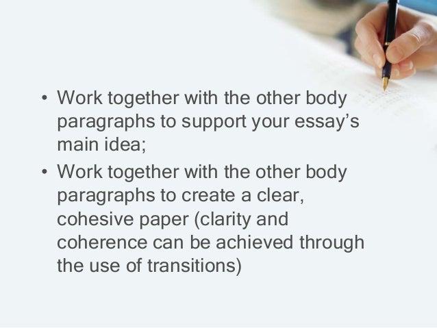 Cohesive essay