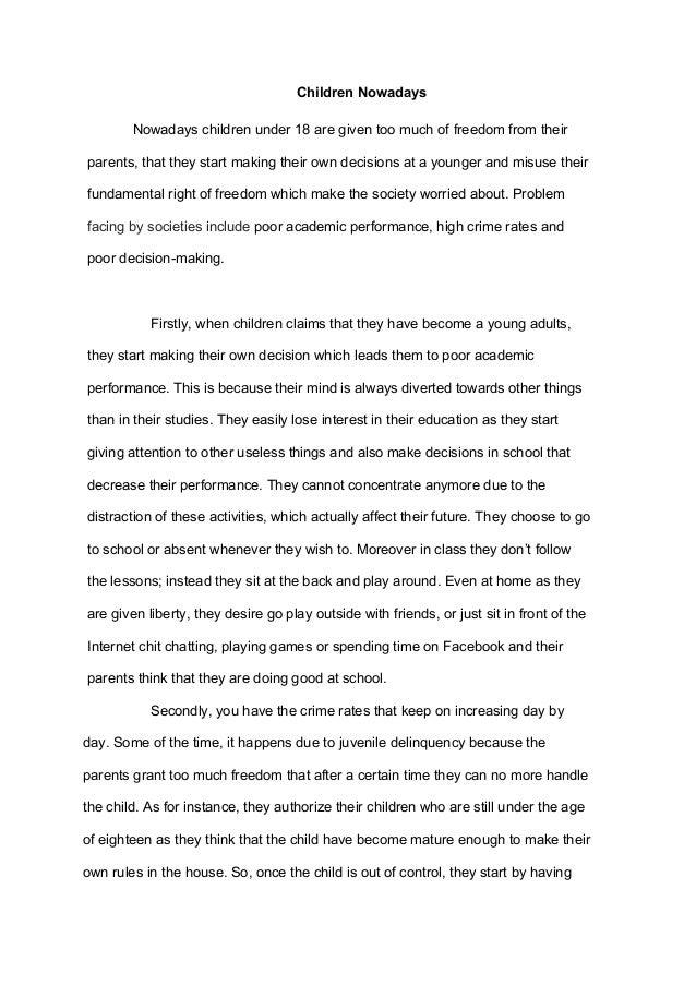 essay on decision making