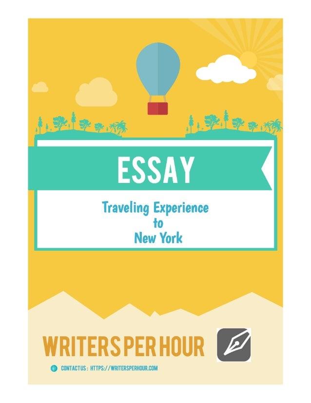 Essay travel experience