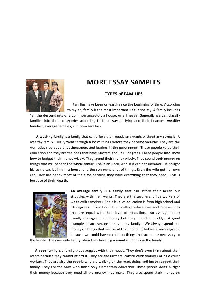family importance essay