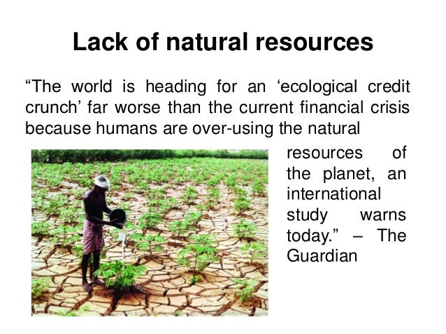 Essays On Natural Resources