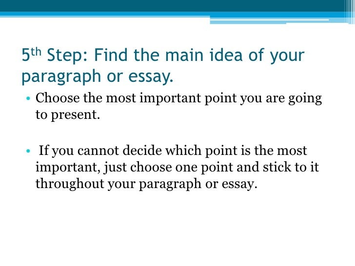 important steps in writing an essay A clear approach is key to writing a successful persuasive essay consider the issue you're writing about and decide which side you want to advocate try summarizing this in one clear sentence this sentence will become your working thesis statement it will help guide your writing and keep your argument focused consider your audience it's.