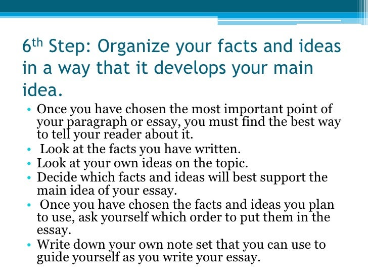 Write my what are the steps of writing an essay