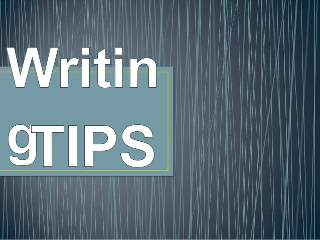 Essay-Writing Tips