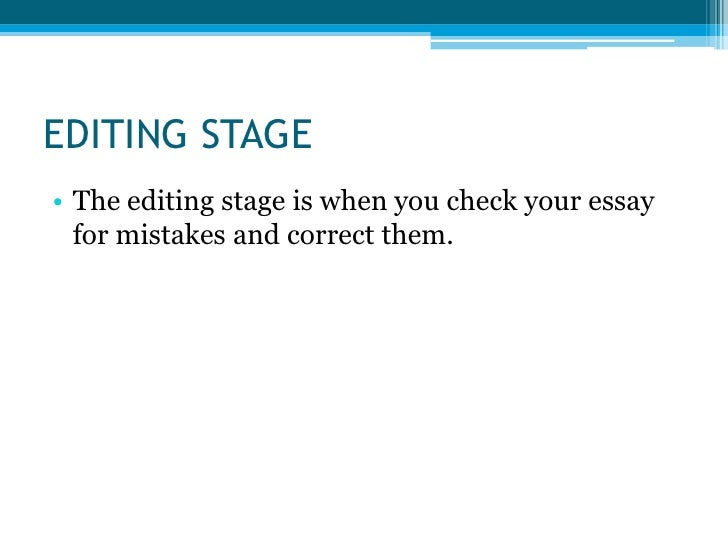 essay in steps writing
