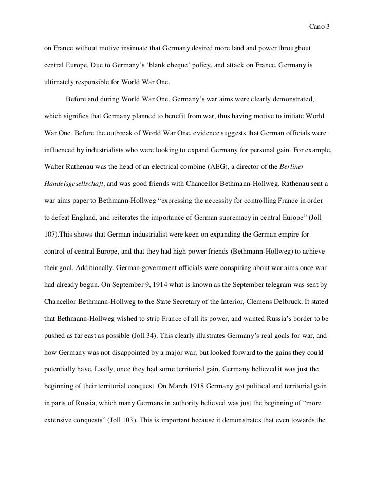 World war one weapons essay about myself