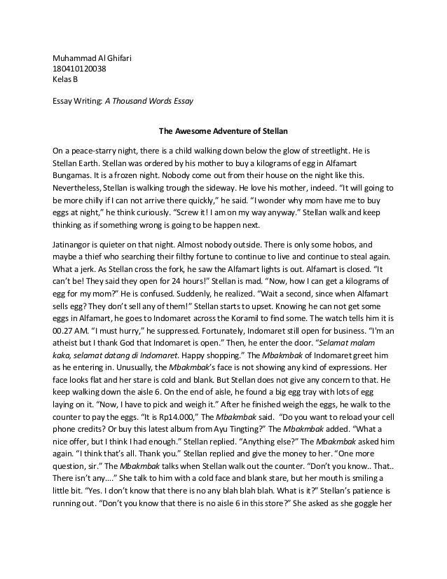 harvard essay length