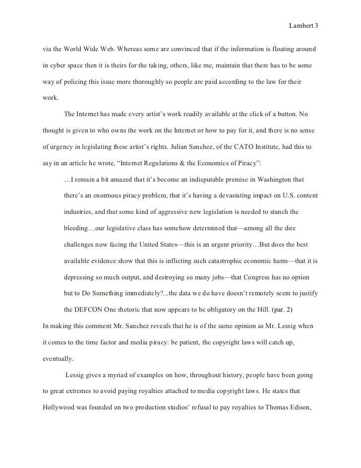 Help with my argumentative essay final draft?