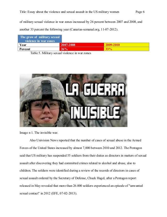 Violence 101 Essay