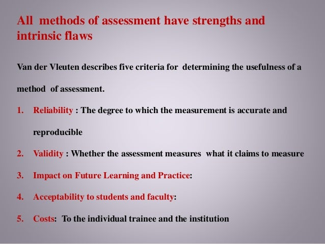 assessment and students 2 essay