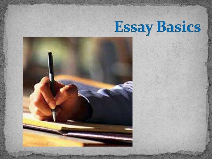 Essay Basics<br />
