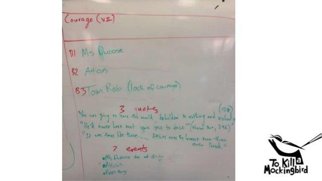 To kill a mockingbird courage essay