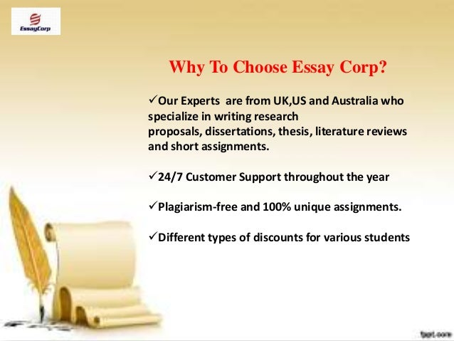 EssaysChief | Best Custom Essay Writing Services USA and