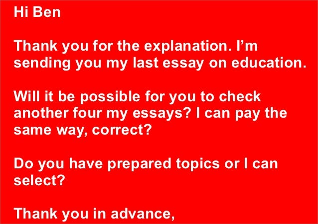 ielts essay correction The ielts correction centre i have been doing ielts essay correction for a number of years via the well known ielts simon website.