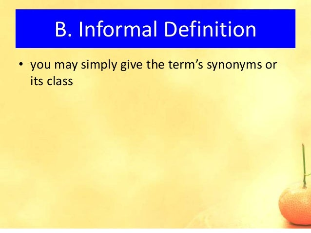 What is the meaning of informal essay