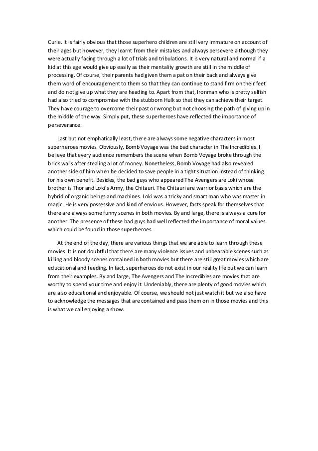 Need help writing narrative essay