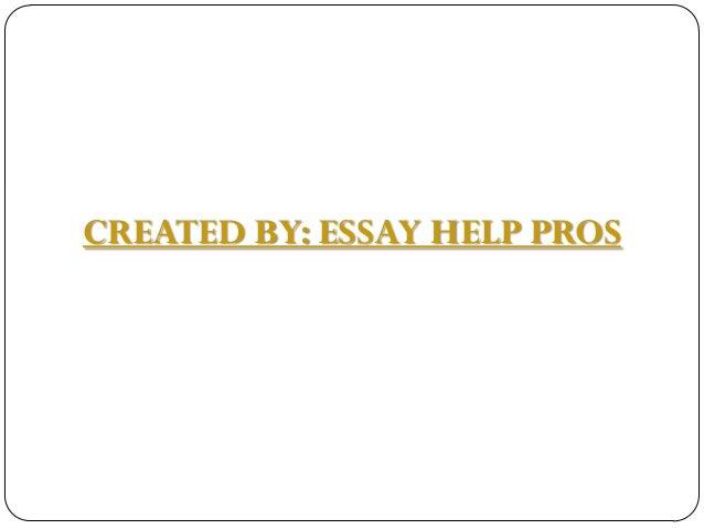 Essay help pros