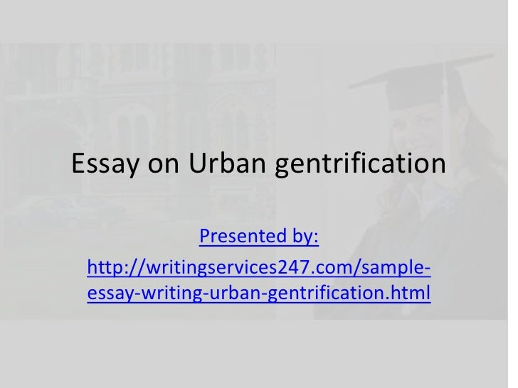 Essays on gentrification