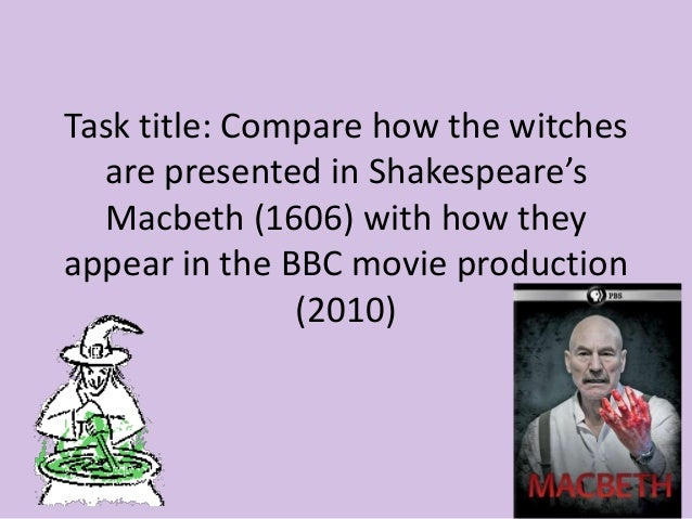 macbeth essays witches