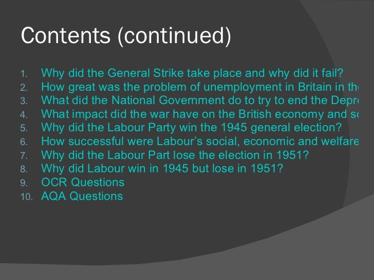 how successful were the labour government reforms of 1945 51 essay Disease, ignorance, and squalor: labour reforms for beveridge's  the labour government of 1945 made the  for building goods and labour were not too.
