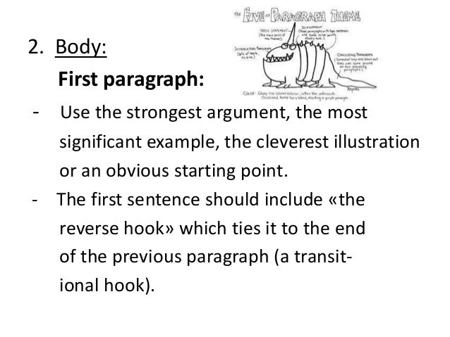 Example 5 paragraph essay