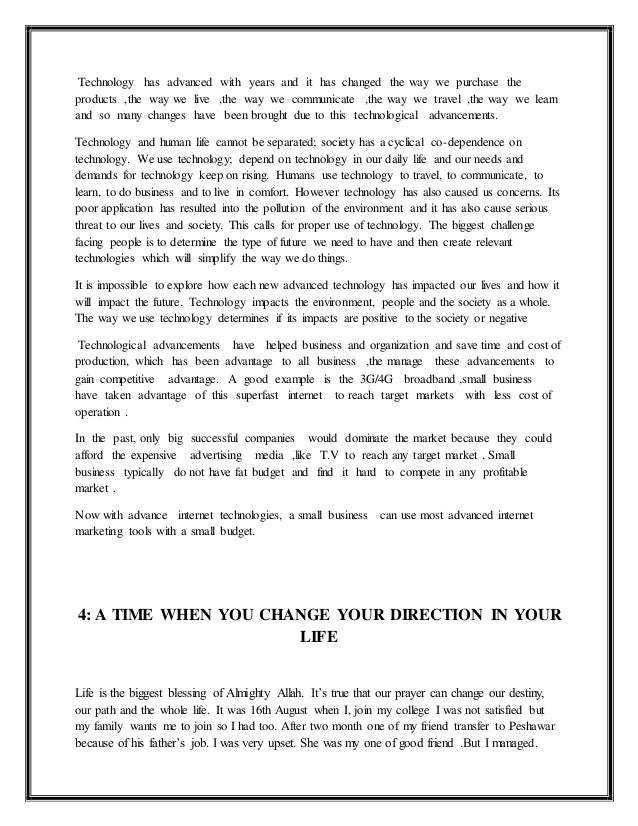 Small Essays In English Change Key Essays On How The Internet Is Changing Our Lives Is The Sixth  Issue Of Essay Writing Thesis Statement also Persuasive Essay Paper Description Of A Person Sample Essay Custom Report Writing Site El  Apa Format Sample Paper Essay