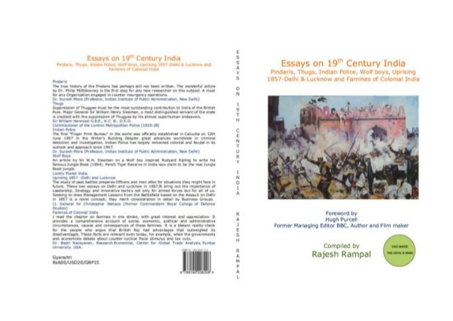 Essays on 19th Century India
