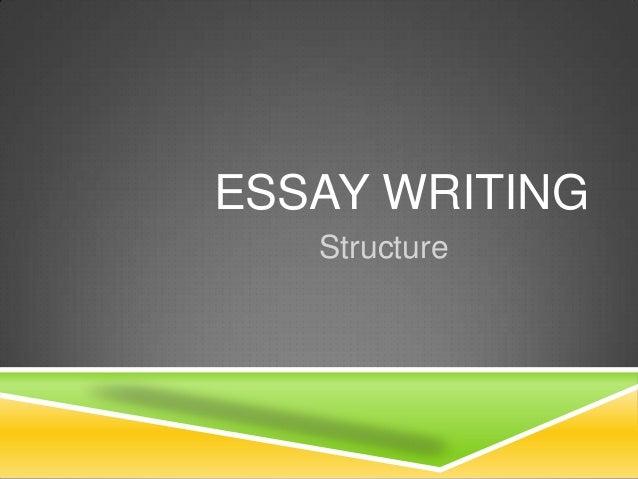 Essay structurepptx