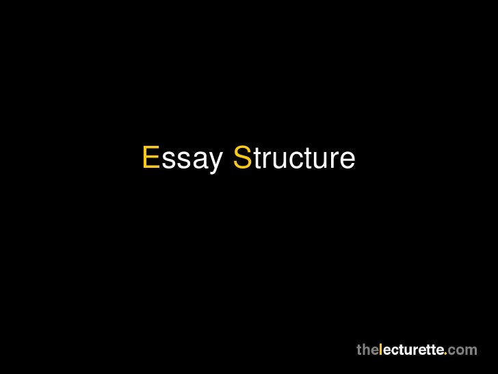 Essay Writing (Structure)