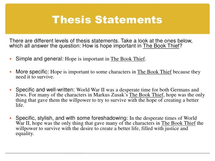 good thesis criteria Looking for some free examples of thesis statements this article contains compares several good and bad examples, as well as a checklist of traps that writers might.