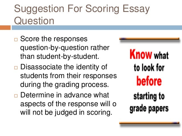 meaning of essay and types