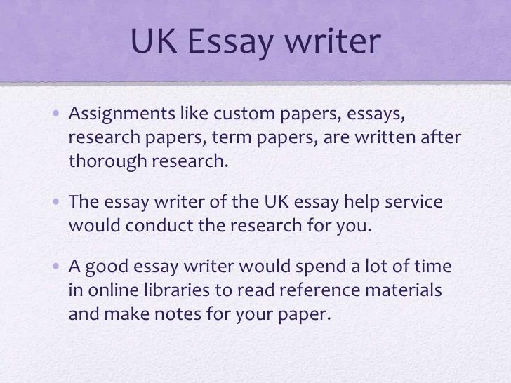 Essay writing service uk law