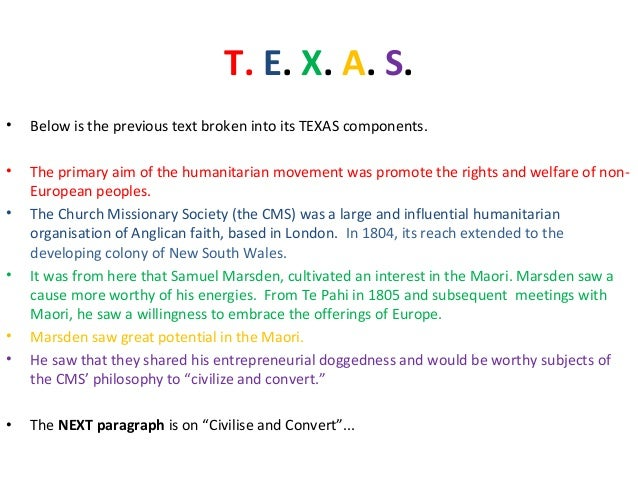 Texas a&m essay
