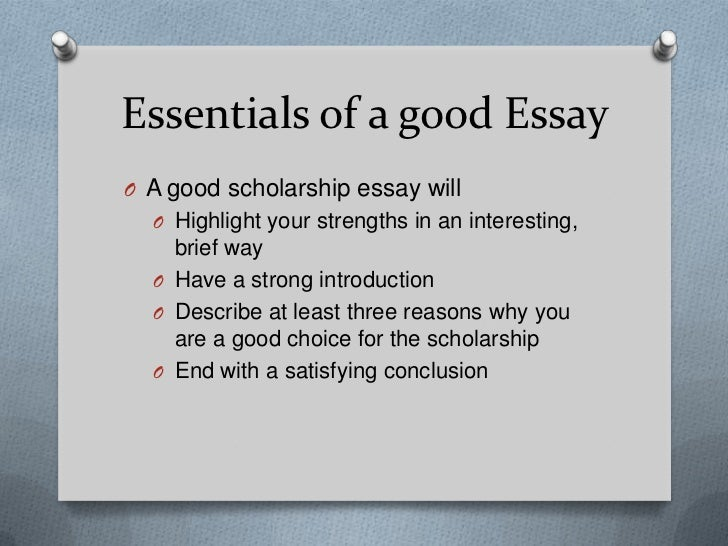 broad scholarship essay Custom written scholarship essays from per page at they will ask you to submit a scholarship essay overused phrases and broad generalities may pass.