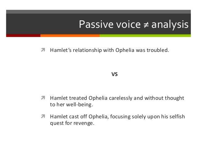 hamlets treatment of ophelia essay