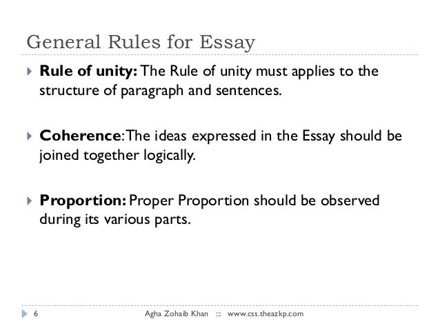 essay writing competition rules and regulations
