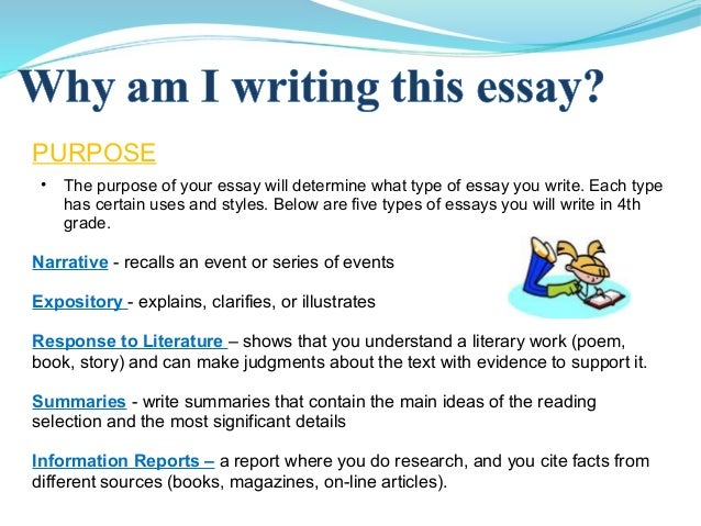 how many kinds of essay do we have Essay structure writing an academic a typical essay contains many different kinds of information, often located in specialized parts or sections.
