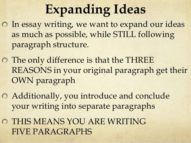 how to write a commentary paragraph