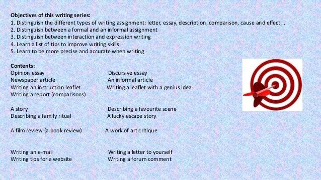 Essay writing practice