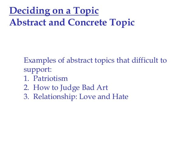 What does it mean to use concrete detail in essay to tell an event?