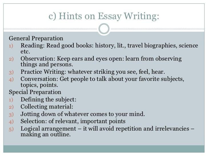Art History why do we write essay
