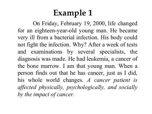 I need help writing a hook for my essay im writing about life changing events?