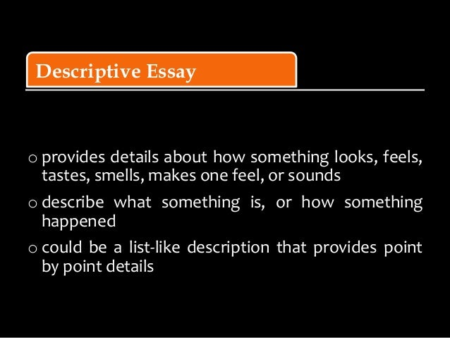 Different types of students essay