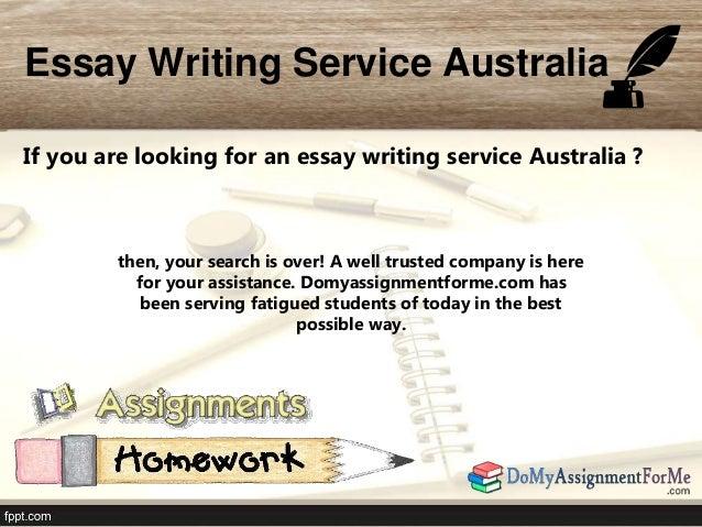 Essay writers in australia