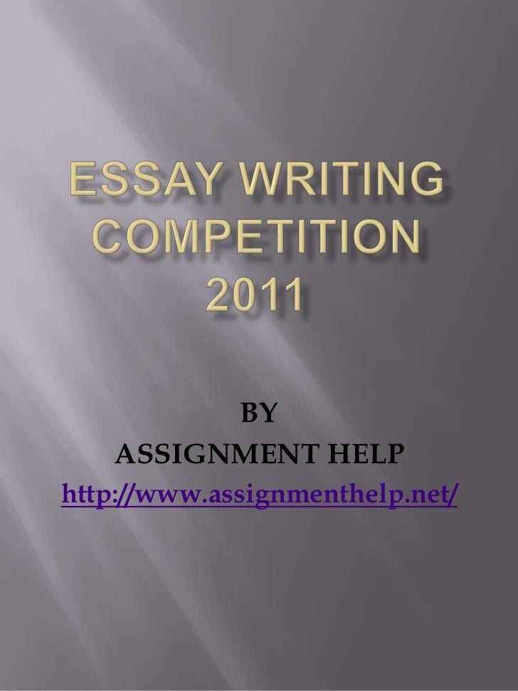 Paper writing help online competition for students